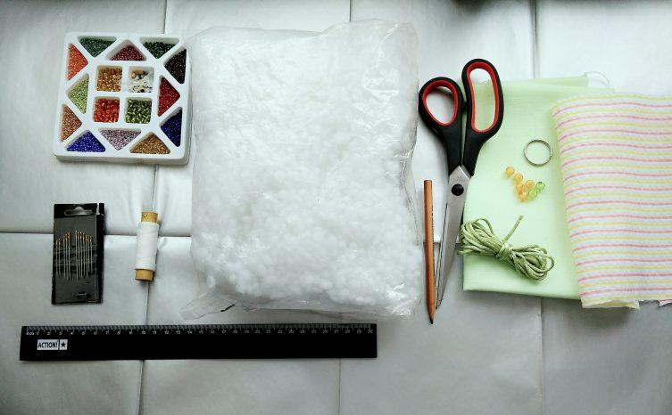 Инструменты и материалы для изготовления брелока