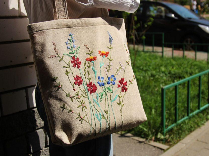 Готовая сумка-шоппер